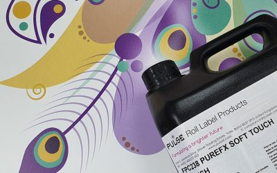 Pulse Roll Label Products Launches Unique UV PureFX Soft Touch
